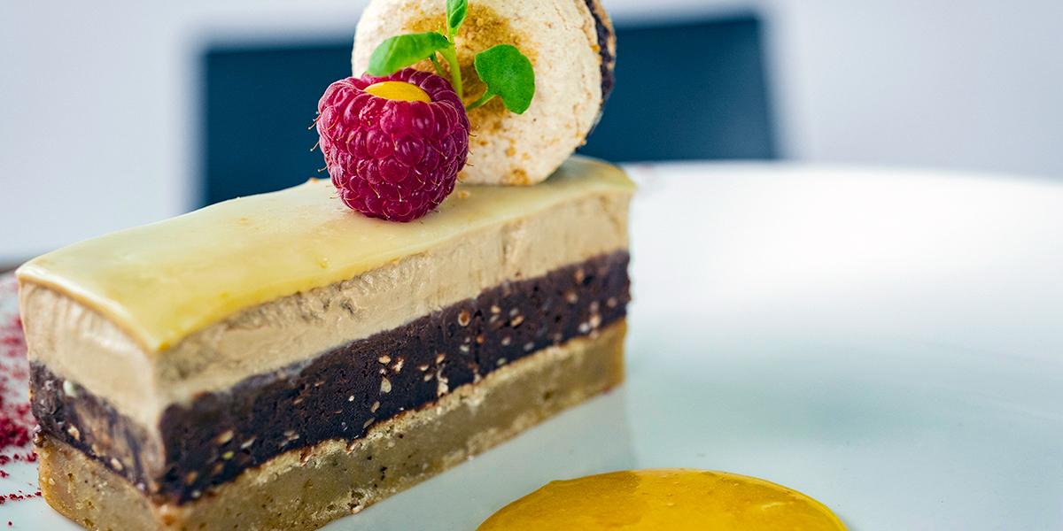 Bistro '67 summer menu deserts featuring cake