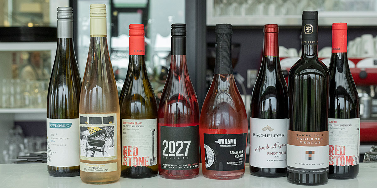 Wine list for B67 summer menu.